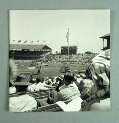 Photograph - 1956 Olympic Games - view of the MCG from the Southern Stand