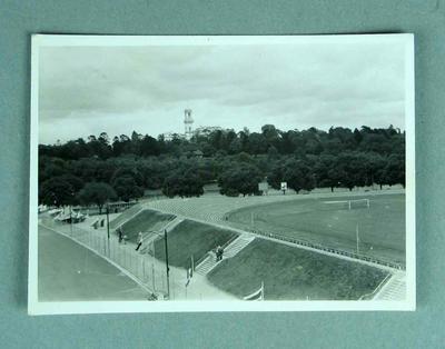 Photograph of 1956 Melbourne Olympics Hockey fields