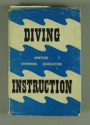 """Book, """"Diving Instruction"""" by N W Sarsfield c1953"""