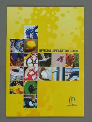 Spectator Guide, 2002 Manchester Commonwealth Games