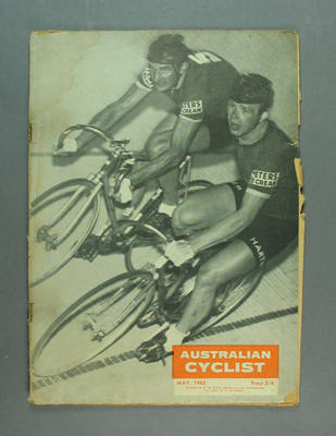 "Magazine, ""The Australian Cyclist"" May 1962"