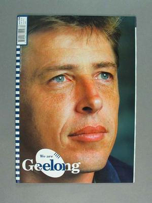 Booklet - 'We are Geelong' part of Geelong Football 2000 campaign