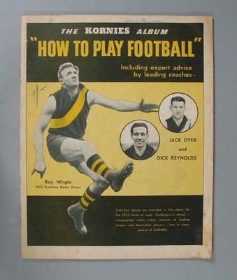 Album - 'The Kornies Album - How to Play Footbal'