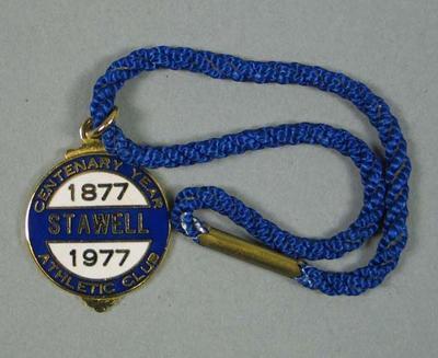 Badge - 1877-1977 Stawell Athletic Club Centenary Year, No. 439