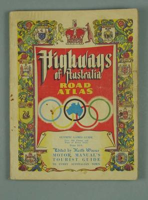Atlas - Highways of Australia Road Atlas, Olympic Games Guide, 1956