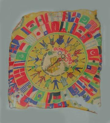 Scarf - 1956 Melbourne Olympic Games souvenir