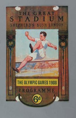 Poster - The Great Stadium, Shepherd's Bush, London - The Olympic Games 1908