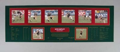 Poster - Frame by Frame - Kevin Bartlett, Richmond Football Club  player