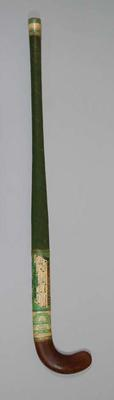 Hockey Stick - Autographed by the 1956 Pakistan Olympic Hockey Team