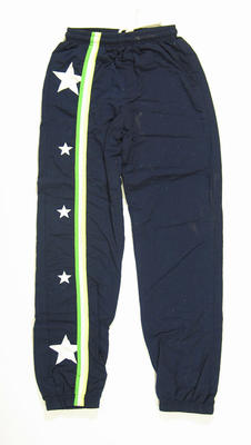 Track suit pants - worn by Lachlan Jones 1996 Atlanta Paralympic Games
