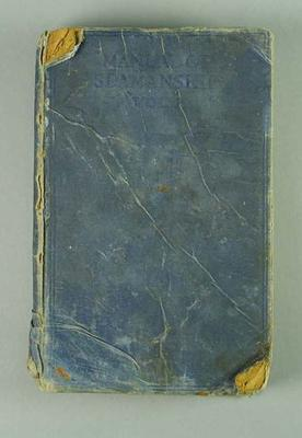 Manual of Seamanship Vol 1, 1922