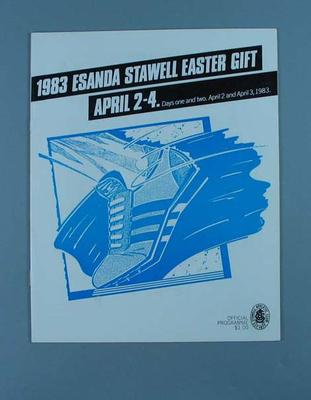 Programme, Stawell Easter Gift 1983