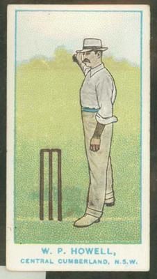 1905 Wills Capstan Australian Club Cricketers William Howell trade card