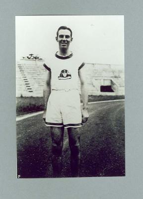 Copy Photograph - Jack Newman Paris 1924 Pershine Stadium (Training); Photography; 2000.3647.4