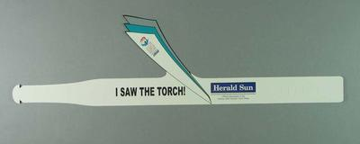 Headband - 'I Saw The torch' - 2000 Sydney Olympic Games Torch Relay souvenir