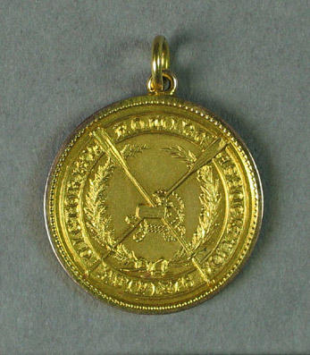 Medal - Victorian Rowing Association, 1928 Champion Fours Victoria, G.H. Coleman (3), Hawthorn R.C.