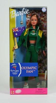 Doll -  Olympic Fan Barbie Australia 2000