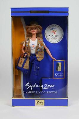 Doll - Pin Collector Barbie Doll Australia 2000