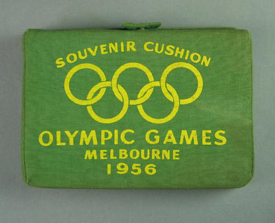 Cushion, 1956 Melbourne Olympic Games