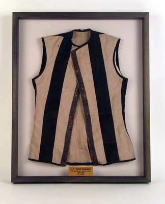 Jerkin, worn by Jock McHale c1903-20