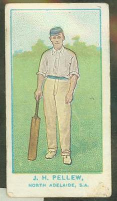 1905 Wills Capstan Australian Club Cricketers John Pellew trade card