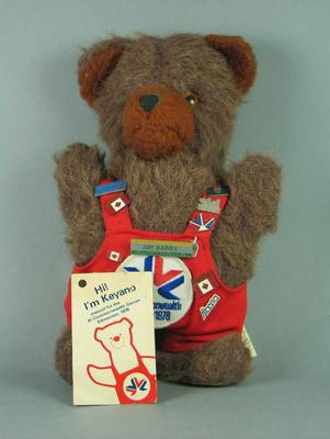 Toy, 1978 Edmonton Commonwealth Games mascot - Keyano