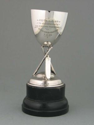 Trophy awarded to Keith Miller in 1936