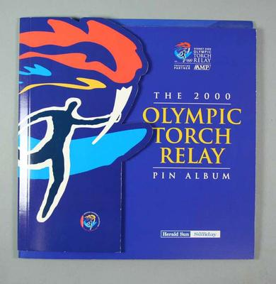 Pin album, 2000 Olympic Torch Relay