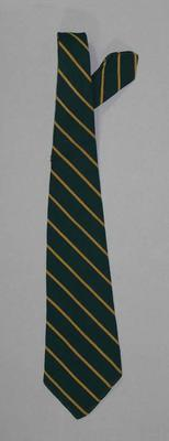 Tie part of Australian Team uniform, 1950 British Empire & Commonwealth Games