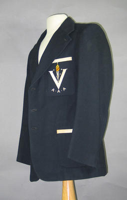 Blazer - V.A.A.A. (Victoria Amateur Athletic Association) worn by K.W. Macdonald