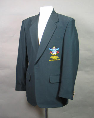 Blazer, Australian Services Cricket Association - South Africa 1997