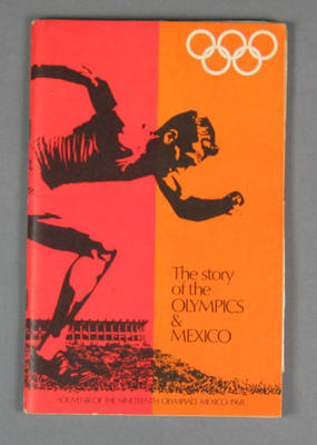 "Booklet, ""The Story of the Olympics & Mexico"""