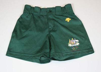 Shorts worn by Jenny Holliday, Atlanta Olympic Games, 1996