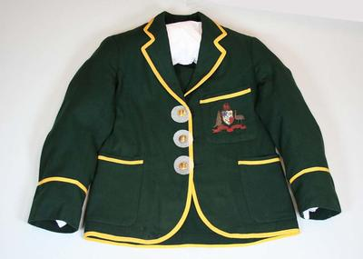 Australian Cricket Team blazer belonging to Clarrie Grimmett
