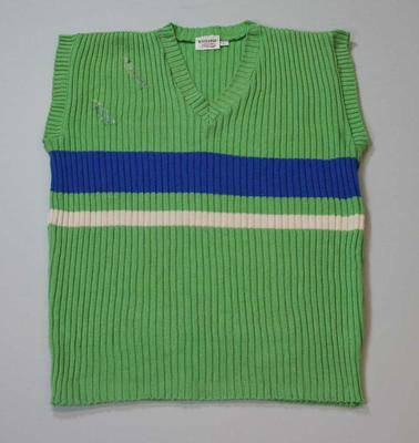 Pakistan Cricket Team vest worn by Javed Miandad