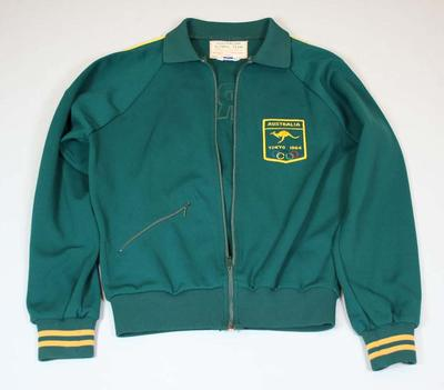 Tracksuit worn by Betty Cuthbert at the Tokyo Olympic Games in 1964