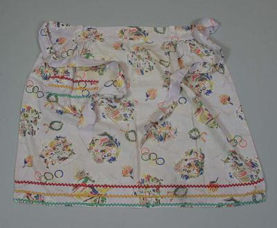 Apron, 1956 Melbourne Olympic Games