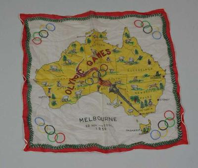 Scarf, 1956 Melbourne Olympic Games