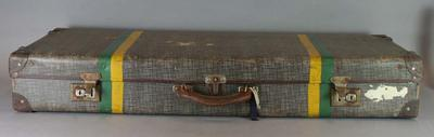 Cricket case belonging to Betty Wilson