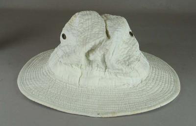 White floppy hat worn by Betty Wilson