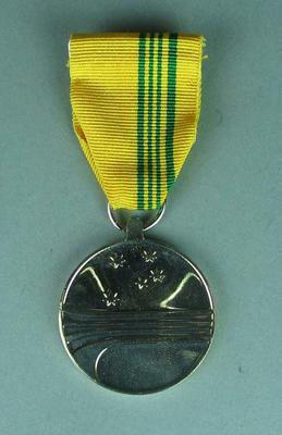 Inscribed Australian Sports Medal, with case - awarded to Betty Wilson 2000