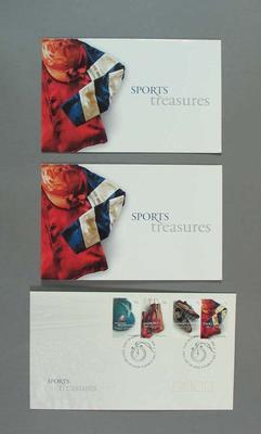 Commemorative Australia Post philatelic set, 'Sports Treasures'