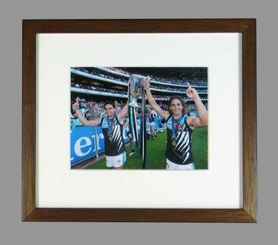 Reproduction photograph, Peter & Shaun Burgoyne - 2004 AFL Grand Final