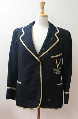 "Victorian Women's Cricket XI Blazer worn by Edith ""Billie"" Lily Pitman"