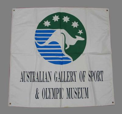 "Banner, ""Australian Gallery of Sport & Olympic Museum"""