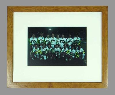 Reproduction photograph, Australian Men's Hockey Team - 1992 Barcelona Olympic Games