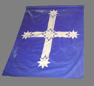Eureka flag flown by the Builders Labourer's Federation at the MCG in 1984