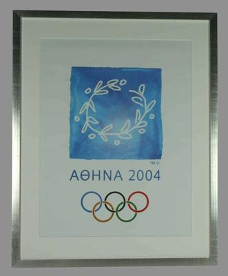 Poster - 2004 Athens Olympic Games