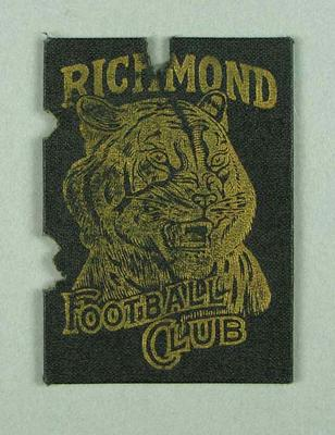 Richmond Football Club Scholar's Ticket, season 1959