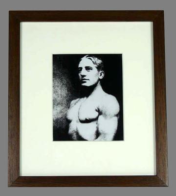 Reproduction photograph, Reginald 'Snowy' Baker; Photography; 2007.242